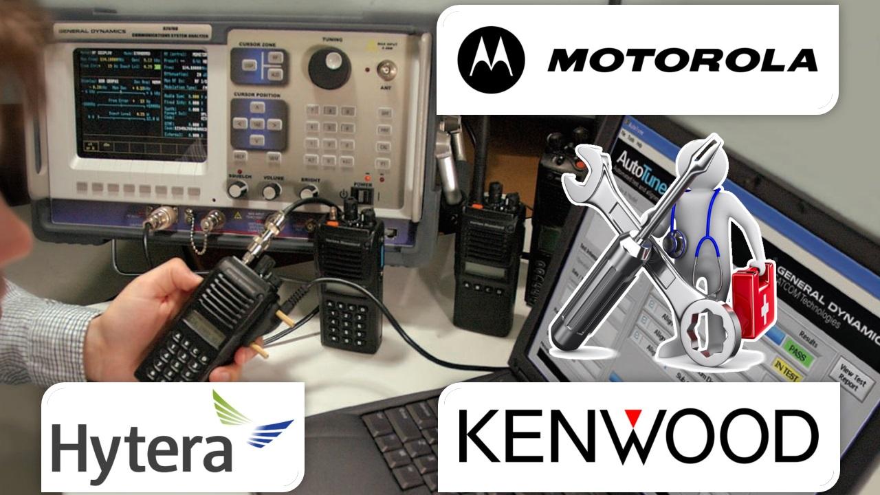 Reparación y mantenimiento de radios de comunicación
